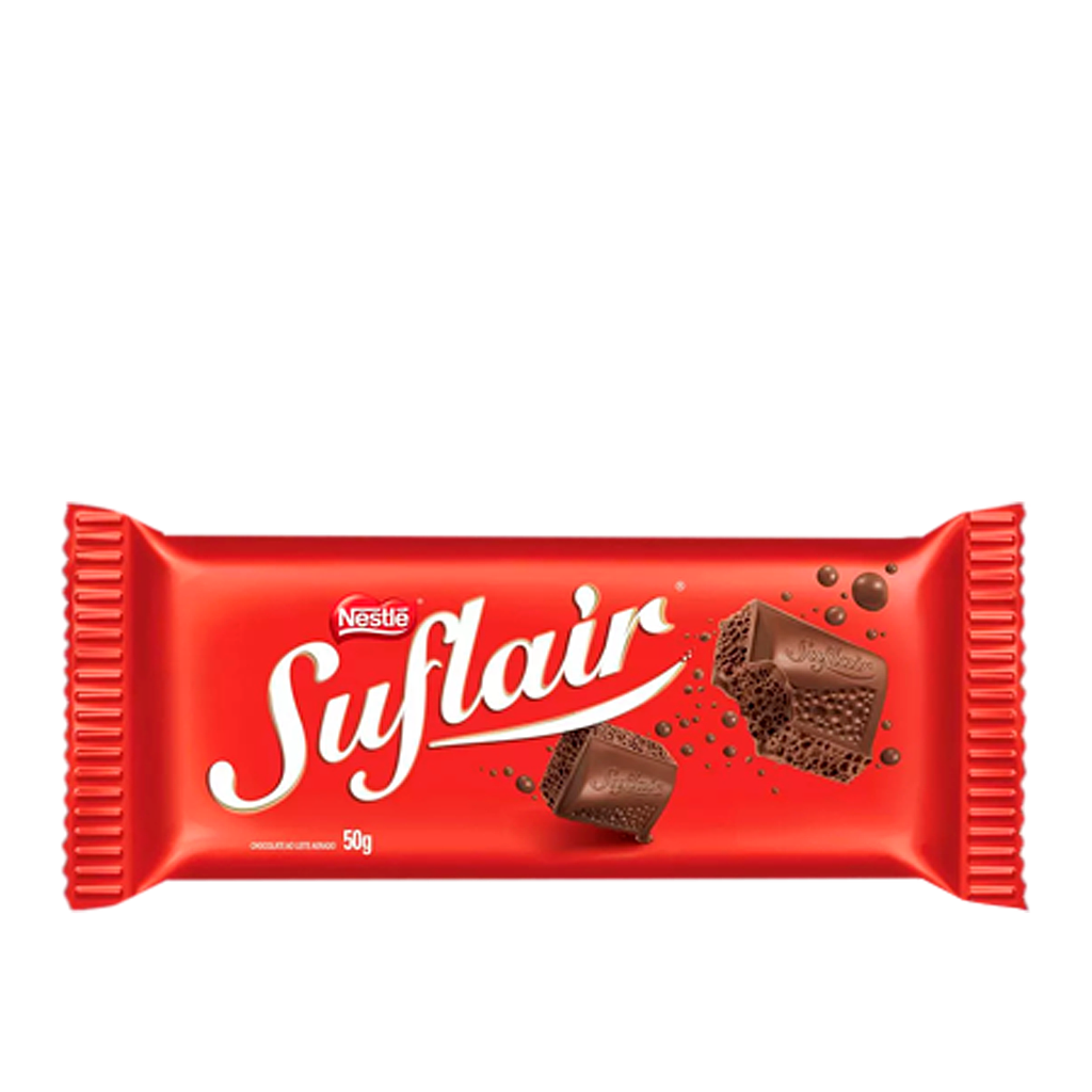 Chocolate Suflair Ao Leite 50g