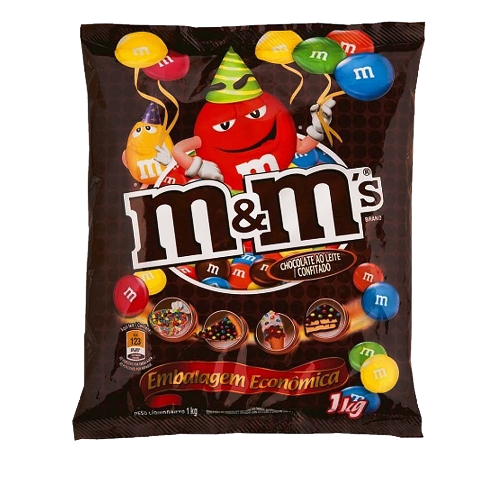 [45728] Confeitos de Chocolate M&M's 1kg